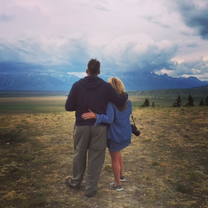 Us and Tetons